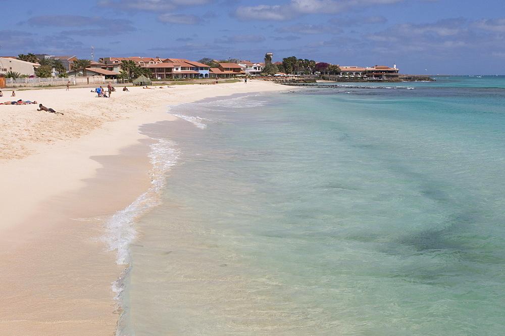 Beach, Santa Maria, Sal, Cabo Verde, Cape Verde, Africa