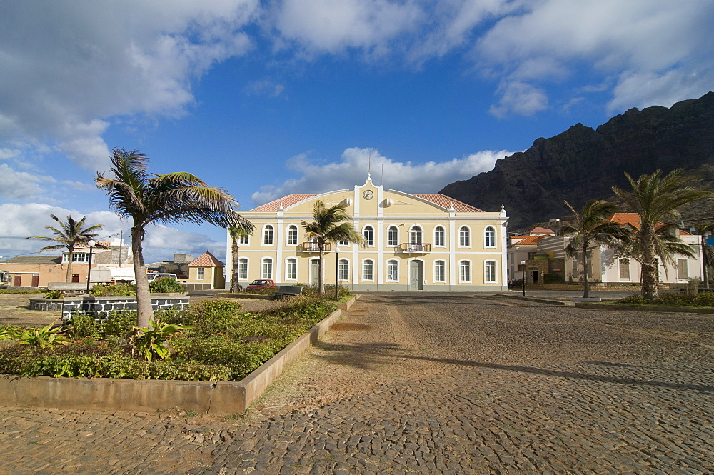 Stately mansion, Ponta do Sol, San Antao, Cabo Verde, Cape Verde, Africa