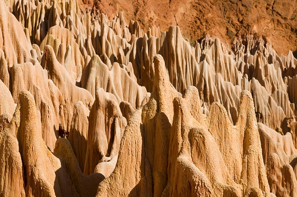 Red Tsingys, rock formations, Madagascar, Africa