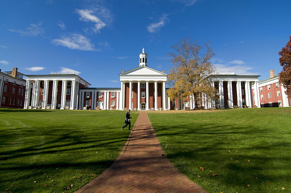 Campus of Washington and Lee University, Lexington, North Carolina, United States of America, Amerika