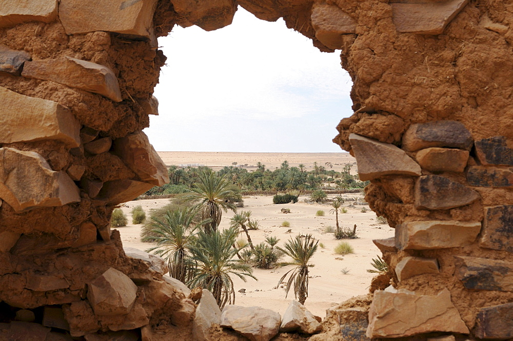 The ruins of Ouadane, UNESCO World Heritage Site, Mauritania, northwestern Africa