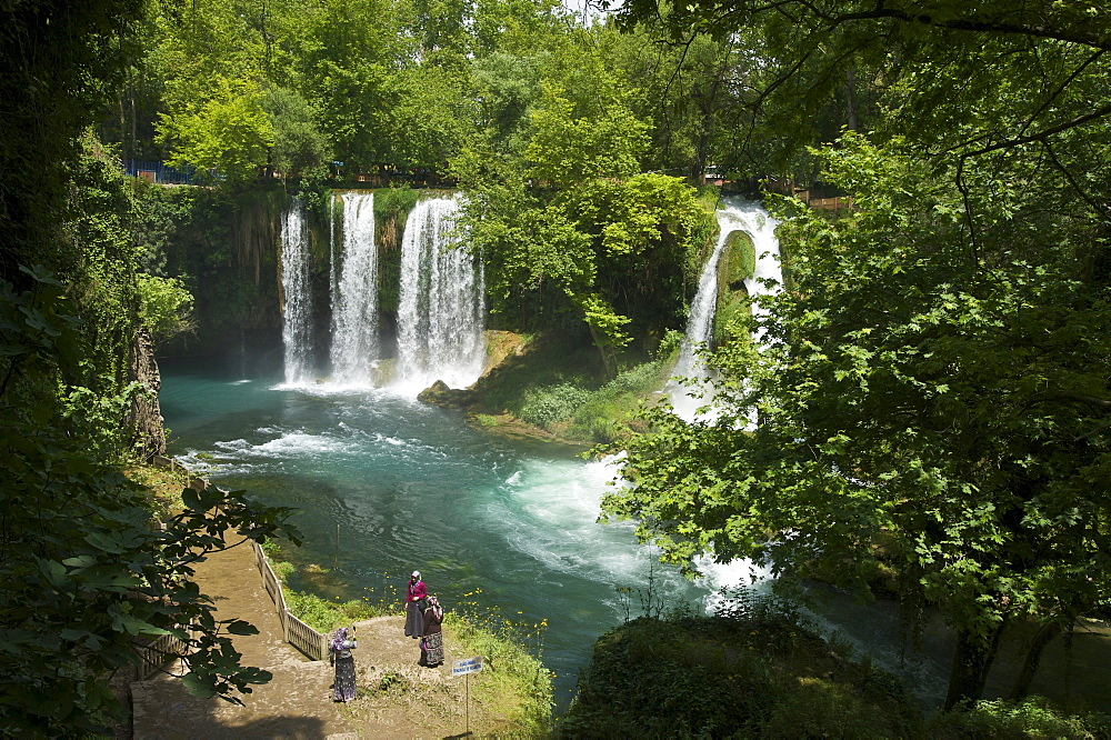 Dueden Waterfalls near Antalya, Turkish Riviera, Turkey