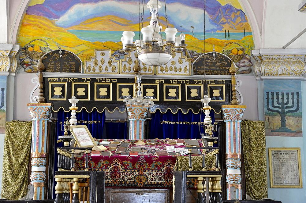 Altar, Jewish synagogue, Oni, Georgia, Western Asia