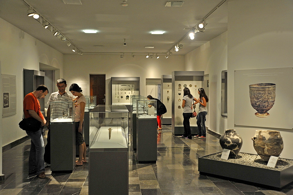 Exhibition space, Georgian National Museum, Sighnaghi, Kakheti, Georgia, Western Asia