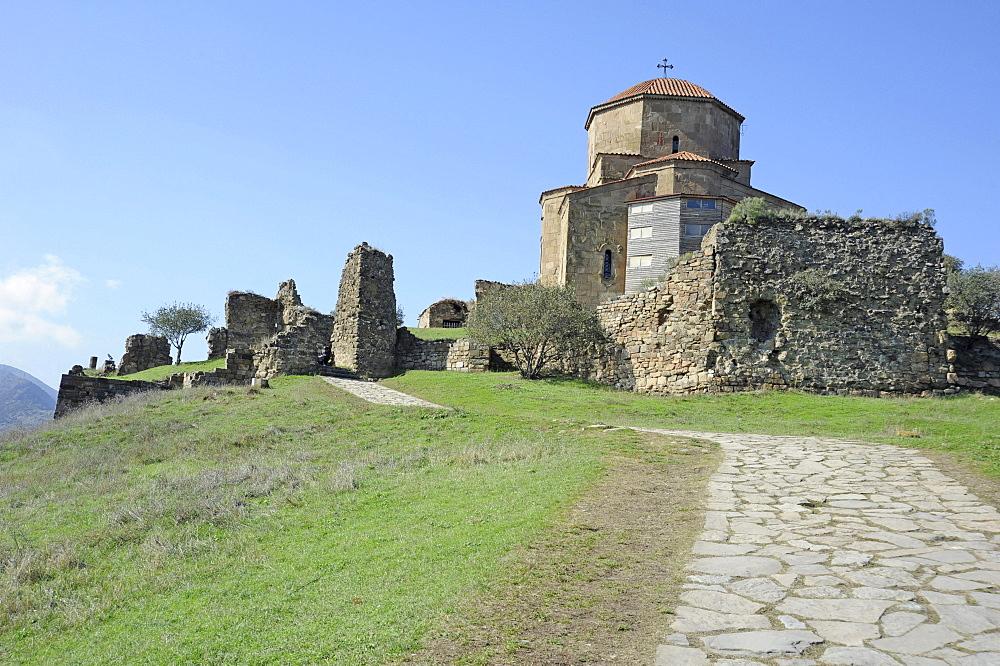 Jvari Church, Church of the Holy Cross, Mtskheta, Kartli, Georgia, Middle East
