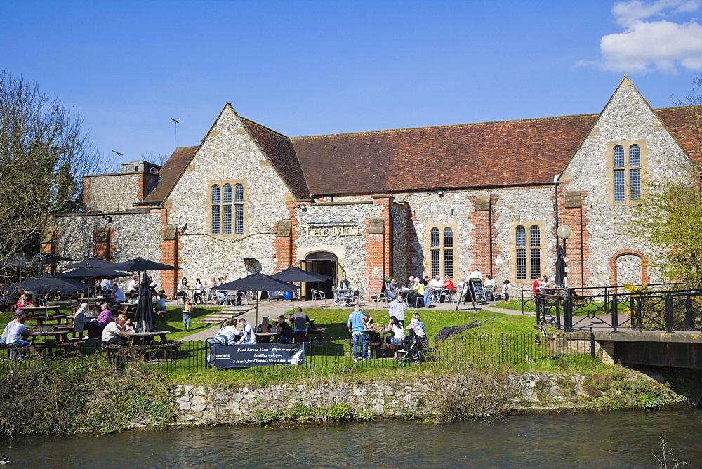 The Mill Pub, The Maltings, Salisbury, Wiltshire, England, United Kingdom, Europe