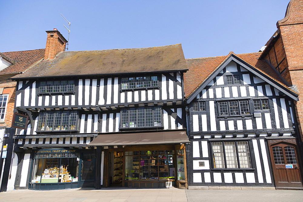 National Trust building on Wood Street, Stratford-upon-Avon, Warwickshire, England, United Kingdom, Europe