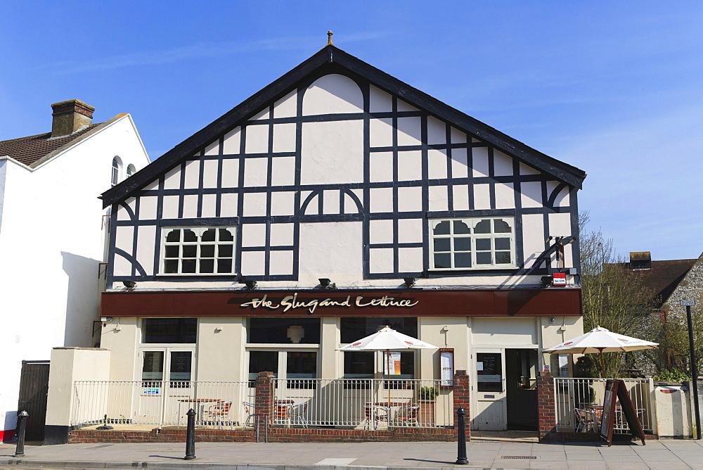 The Slug and Lettuce, restaurant, Fisherton Street, Salisbury, Wiltshire, England, United Kingdom, Europe