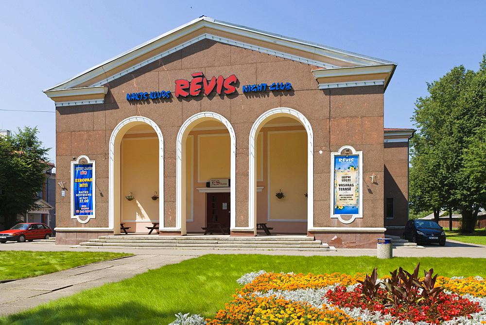 Revis Night Club, Atbrivosanas Aleja, Atbrivosanas Avenue, Rezekne, Latgale, Latvia, Northern Europe