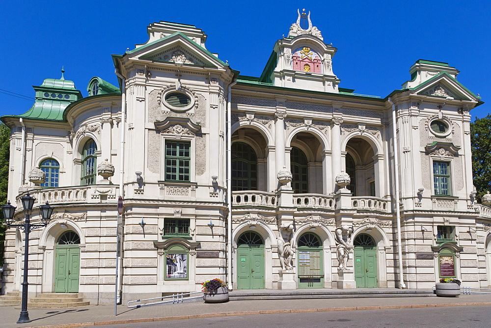 Latvijas Nacionalais teatris, Latvia, Northern European National Theatre, Kronvalda Bulvaris, Kronvald Boulevard, Riga, Latvia, Northern Europe