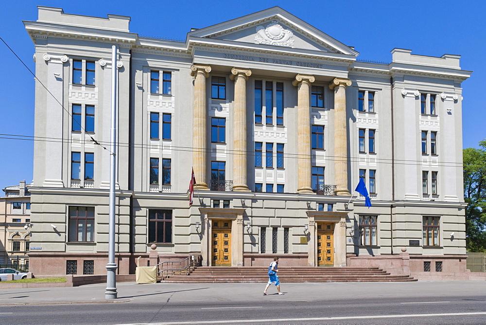 Latvijas Republikas Arlietu Ministrija, Ministry of Foreign Affairs of Latvia, Kr Valdemara Iela, Kr Valdemara Street, Riga, Latvia, Northern Europe