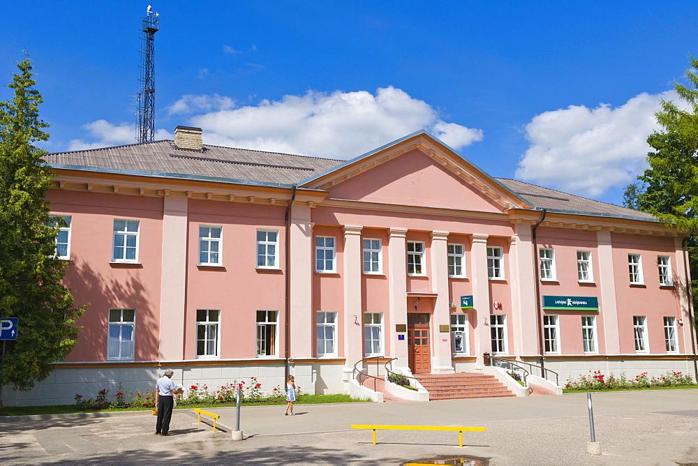 Dagdas novada pasvaldiba, Dagda Municipality Council, Alejas iela, Alejas Street, Dagda, Kraslava District, Latgale, Latvia, Northern Europe