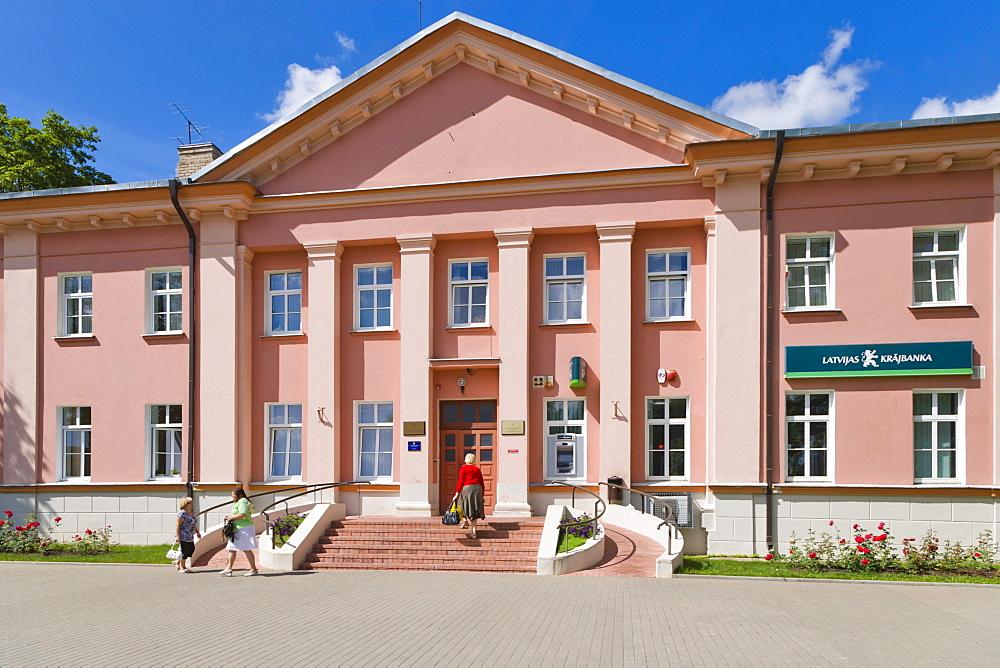 Dagdas novada pasvaldiba, Dagda Municipality Council, Alejas iela Street, Dagda, Kraslava District, Latgale, Latvia, Northern Europe