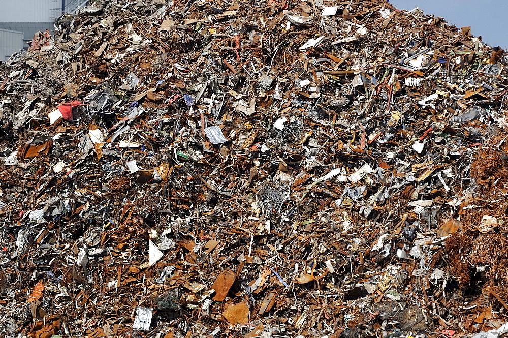 Scrap heap, scrap metal