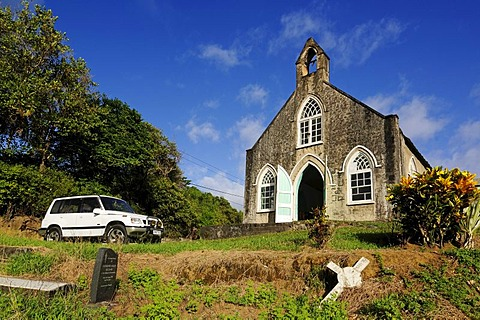 Church of Bridgetown, Saint Vincent, Lesser Antilles, Caribbean