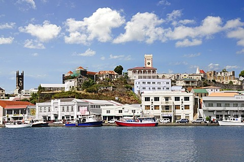 Port, Saint George, Grenada, Lesser Antilles, Caribbean