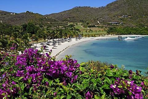 Beach, Raffles Resort, Canouan Island, Saint Vincent, Caribbean