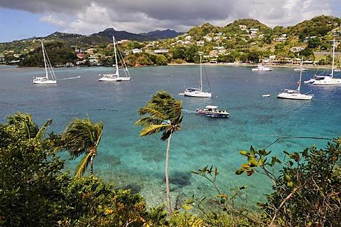 Port, Young Island Resort, Saint Vincent, Caribbean