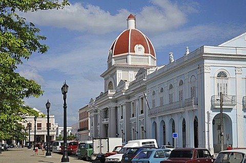 Museo Historico Provincial in Parque Jose Marti, historic district, Cienfuegos, Cuba, Caribbean, Central America