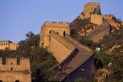 Great Wall of China, Chang Cheng, UNESCO World Heritage Site, near Badaling, China, Asia
