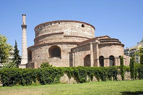 The church Aghios Georgios, Rotunda, in Thessaloniki, Central Macedonia, Greece, Europe