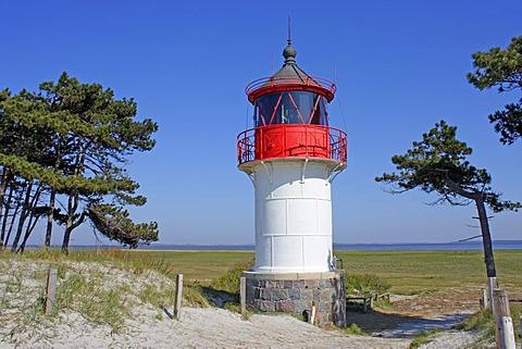 Quermarkenfeuer, Southern Lighthouse, Gellen, Hiddensee Island, Mecklenburg-Western Pomerania, Germany, Europe