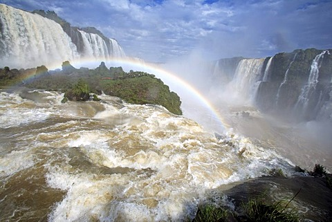 Iguazu Falls, Iguazu National Park, Brazil, South America