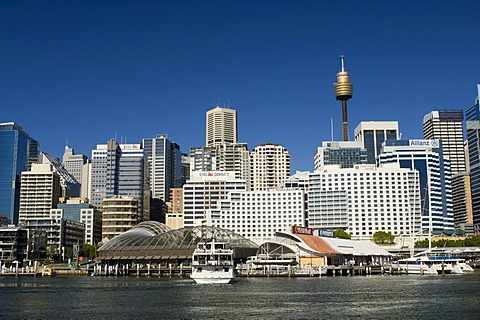 Skyline, Darling Harbour, Sydney, New South Wales, Australia