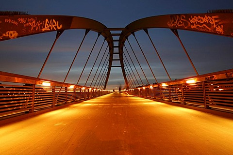 Schwedter Steg bridge, Berlin, Germany, Europe