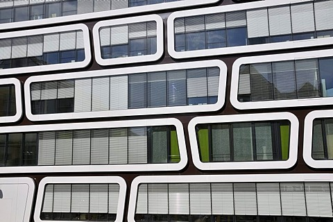 The Z-UP office building for Reader's Digest Germany, developed by Professor Kergassner, Best GmbH publishing house, Stuttgart, Baden-Wuerttemberg, Germany, Europe