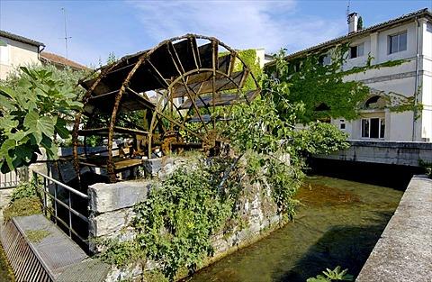 L'Isle-sur-la-Sorgue, Luberon, Departement Vaucluse, France, Europe
