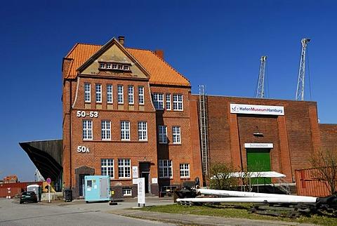 Hafenmuseum Harbour Museum in Hamburg, Germany, Europe