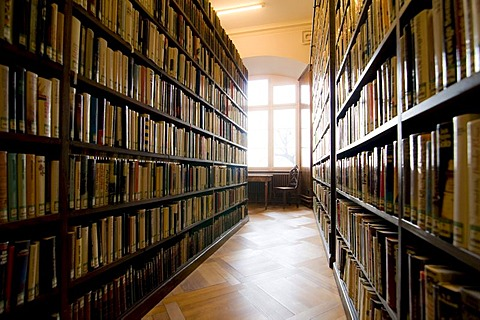 Library of the Allgemeine Lesegesellschaft Basel general reading society, Basel, Switzerland, Europe