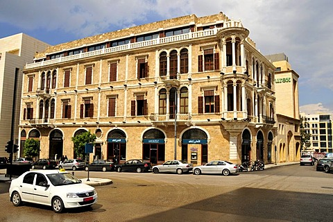 Melrose House in the historic centre of Beirut, Lebanon, Middle East, Asia