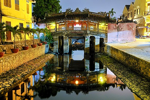 Japanese Bridge, Hoi An, Vietnam, Southeast Asia
