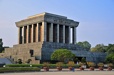 Ho Chi Minh Mausoleum, Hanoi, Vietnam, Southeast Asia