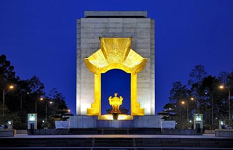 War Memorial, Bac Son Memorial statue, Dai Tuong Niem Anh Hung, Ba Dinh square, Hanoi, Vietnam, Southeast Asia