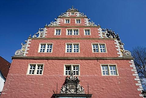 Former armory building, Wolfenbuettel, Lower Saxony, Germany, Europe