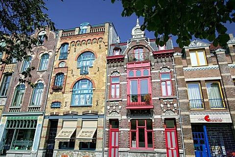 Art Nouveau buildings in Venlo, Netherlands, Europe