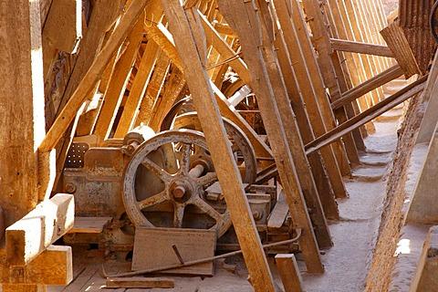 Santa Laura Saltpeter Works, UNESCO World Heritage Site, Atacama Desert, northern Chile, Chile, South America