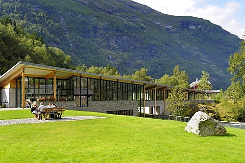 Geiranger Fjord Centre, UNESCO World Heritage Site, Norway, Scandinavia, Northern Europe