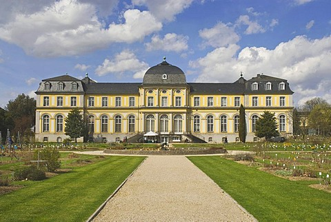 Poppelsdorfer Schloss castle, Baroque, Bonn, North Rhine-Westphalia, Germany, Europe