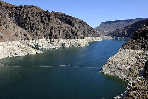 Lake Mead Reservoir at the Hoover Dam, Nevada, USA, North America