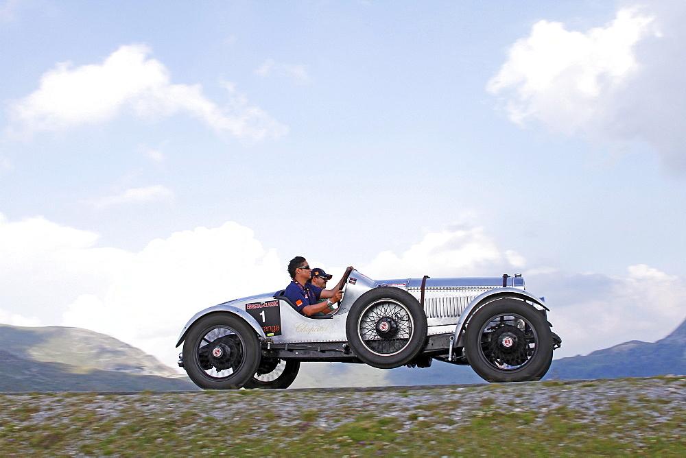 Buick Speedster, built in 1924, Nockalmstrasse, Ennstal Classic 2010 Vintage Car Rally, Groebming, Styria, Austria, Europe