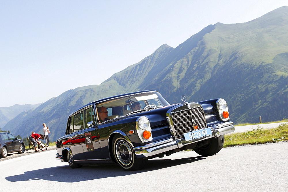 Mercedes-Benz 600 Pullman, built in 1968, Soelkpass, Ennstal Classic 2010 Vintage Car Rally, Groebming, Styria, Austria, Europe