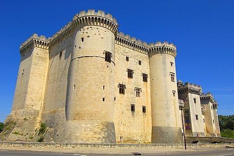 King Rene's Castle, Tarascon, Bouches-du-Rhone, Provence, France, Europe
