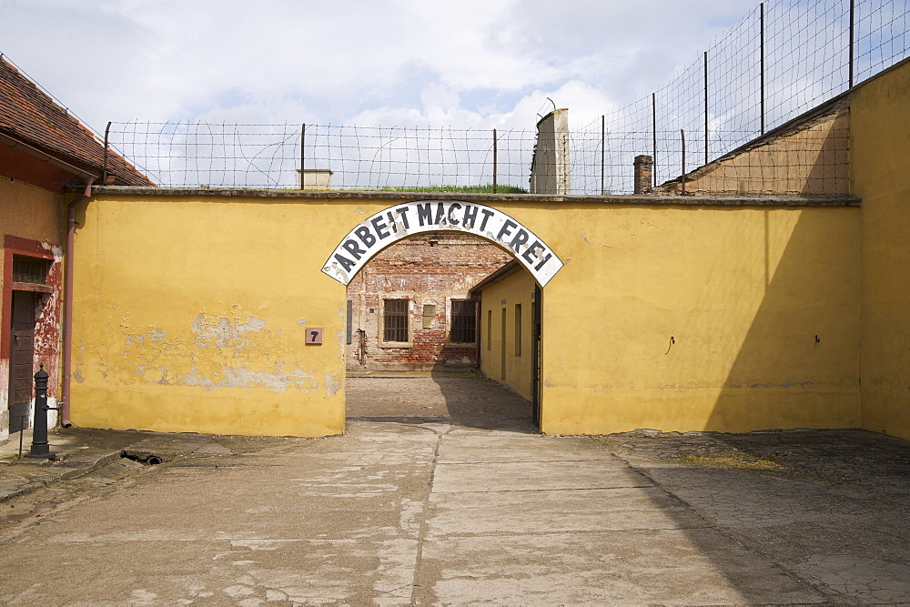 Gestapo prison, prison of the secret state police of Nazi Germany, Terezin, Czech Republic, Europe