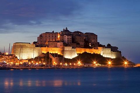 Citadel, Calvi, Corsica, France, Europe