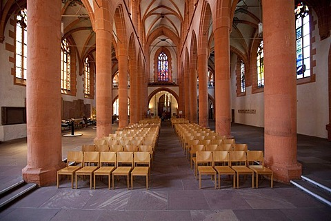 Heiliggeistkirche, Church of the Holy Spirit, the largest and most important church in Heidelberg, Rhine-Neckar Metropolitan Region, Baden-Wuerttemberg, Germany, Europe