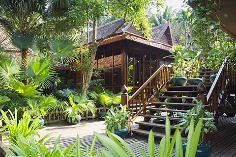Luxury hotel, Angkor Village Hotel, Siem Reap, Cambodia, Indochina, Southeast Asia, Asia